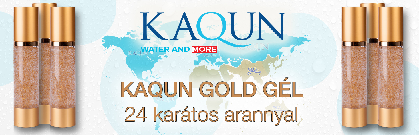Kaqun - Natural Gold gél 50ml